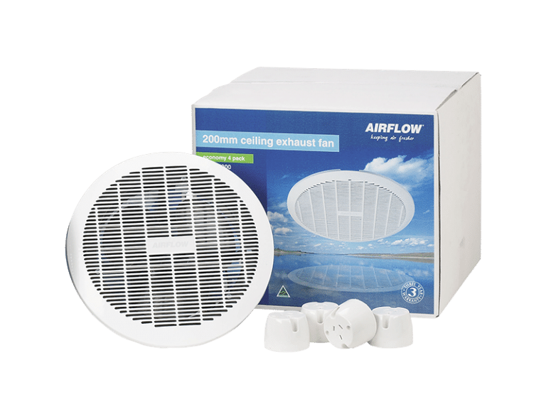 a box containing four clipsal ce200 exhaust fans